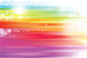 Abstract Colored Rainbow