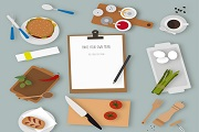 Cooking Creative illustration vecto