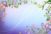 Free Vector Flowers 05