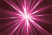 Light Rays Background Vector