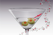Free Vector Martini Glass