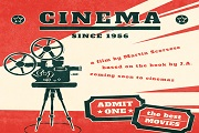 Retro Movie Poster vector