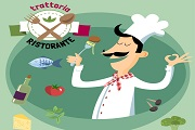 Taste dishes chef vector