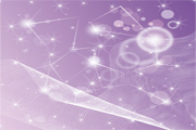 Abstract Purple Design Free Vector