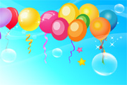 Free Vector Balloon