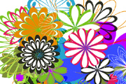 Free Vector Flowers 09