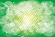 Green Bokeh Abstract Design Vector