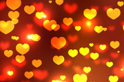 heart bokeh effect
